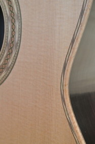 Michael Gee Guitar Brazilian Rosewood and Birdseye Maple